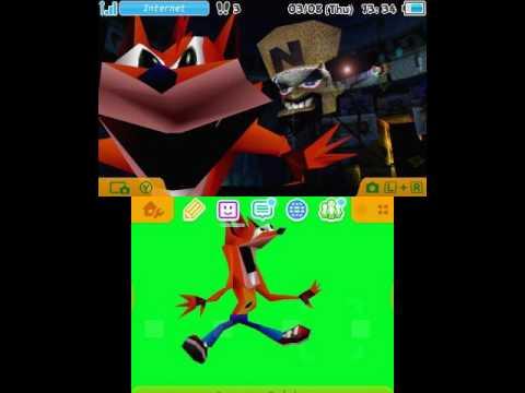 3DS Custom Theme: Woah (Crash Bandicoot meme) - YouTube