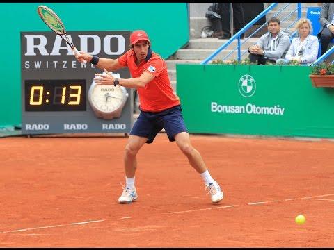Pablo Cuevas vs. Grigor Dimitrov- Semifinal ATP 250 de Estambul [Highlights]
