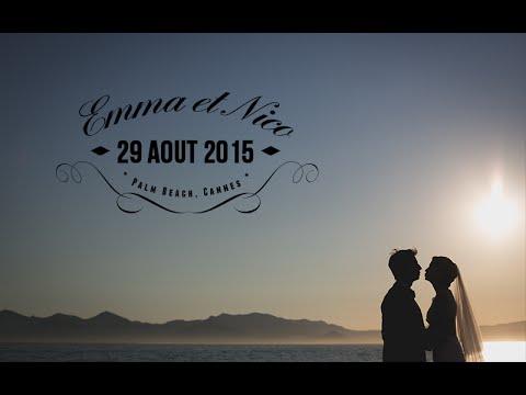 photographies mariage emma et nico palm beach cannes - Palm Beach Cannes Mariage