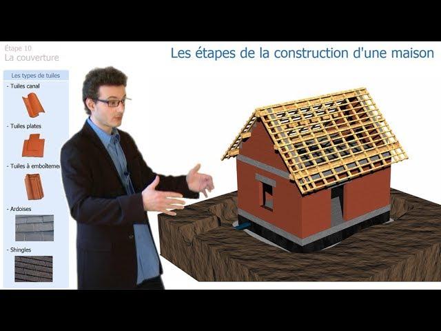 Connaissez vous les étapes de la construction d'une maison ?