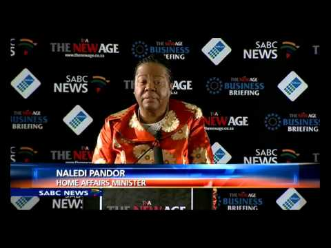 Minister Pandor rejects report on SA's human rights record