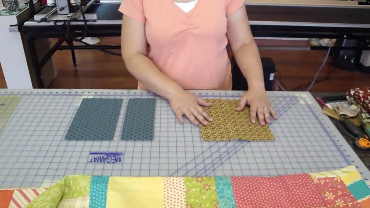 Jelly Roll Week - Layer cake and Jelly Roll Quilt - YouTube : youtube quilting jelly rolls - Adamdwight.com