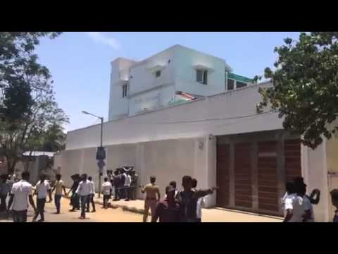 Fan Frenzy* Fans Gathered in front of THALA Ajith's House to Wish him ...