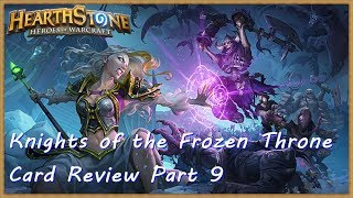 Hearthstone #031 (German): Knights of the Frozen Throne Card Review Part 9