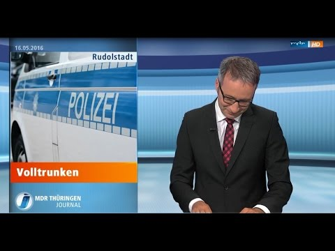 MDR THÜRINGEN JOURNAL Lachanfall Real  city LIVE HD