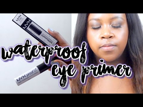 NYX Cosmetics Proof It! Waterproof Eye Shadow Primer First Impression + Review | Shanice Marie