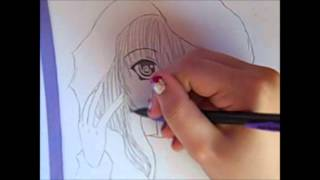 an anime vampire girl drawing lesson