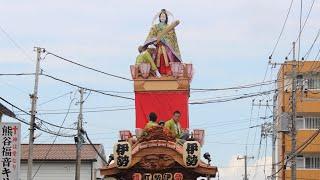 昨年山車に新調した熊谷うちわ祭・伊勢町区の人形が完成し御披露目され...