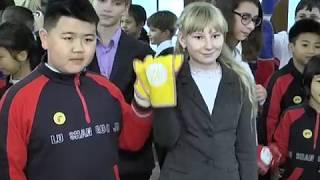 Школьники из китайского города Чанша приехали в Могилевскую область 01 11 2017