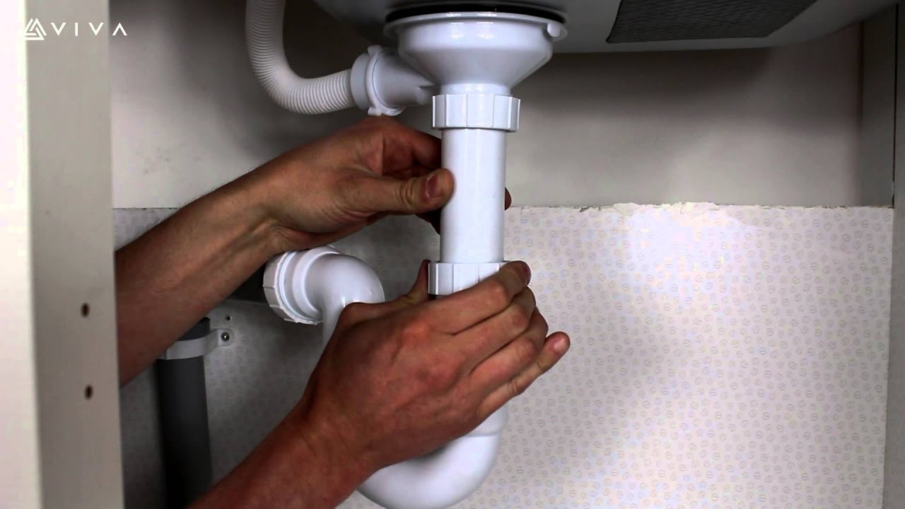 Installing Kitchen Sink S Trap Pvc