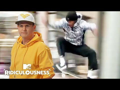 When Rob Dyrdek Gets Hurt, He Gets ANGRY! | Ridiculousness