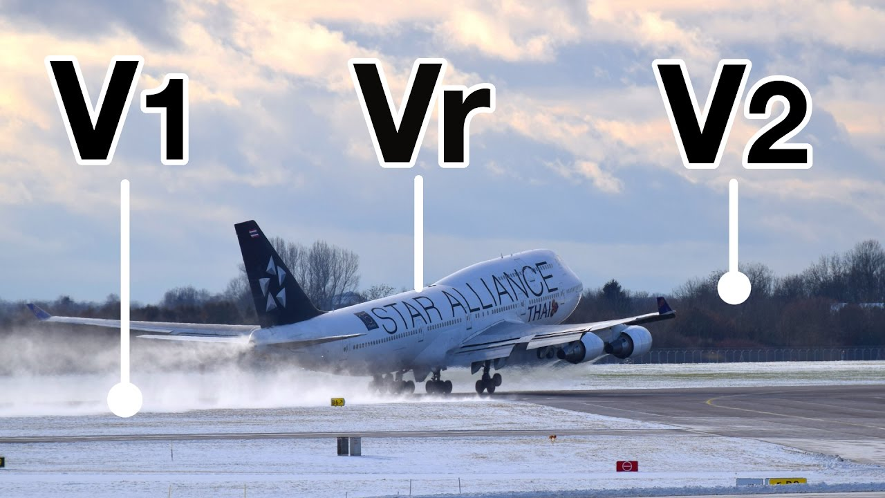 "TAKE-OFF Speeds V1, Vr, V2! Explained by ""CAPTAIN"" Joe ..."