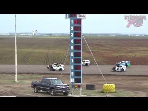 Salina Speedway - 9-30-18 - Mid America Clash 6 - Mod Lite Heat Races