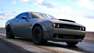 HPE1000 Dodge Demon in Action
