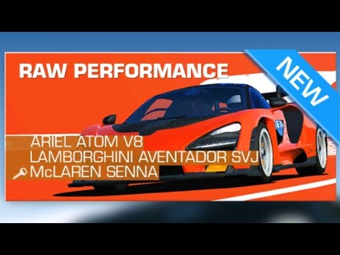 Real Racing 3 Road Collection: ELITE / Raw Performance Bonus Series Overview