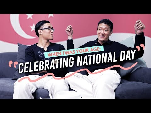Father and Son On Celebrating Singapore's National Day - When I Was Your Age Ep 6