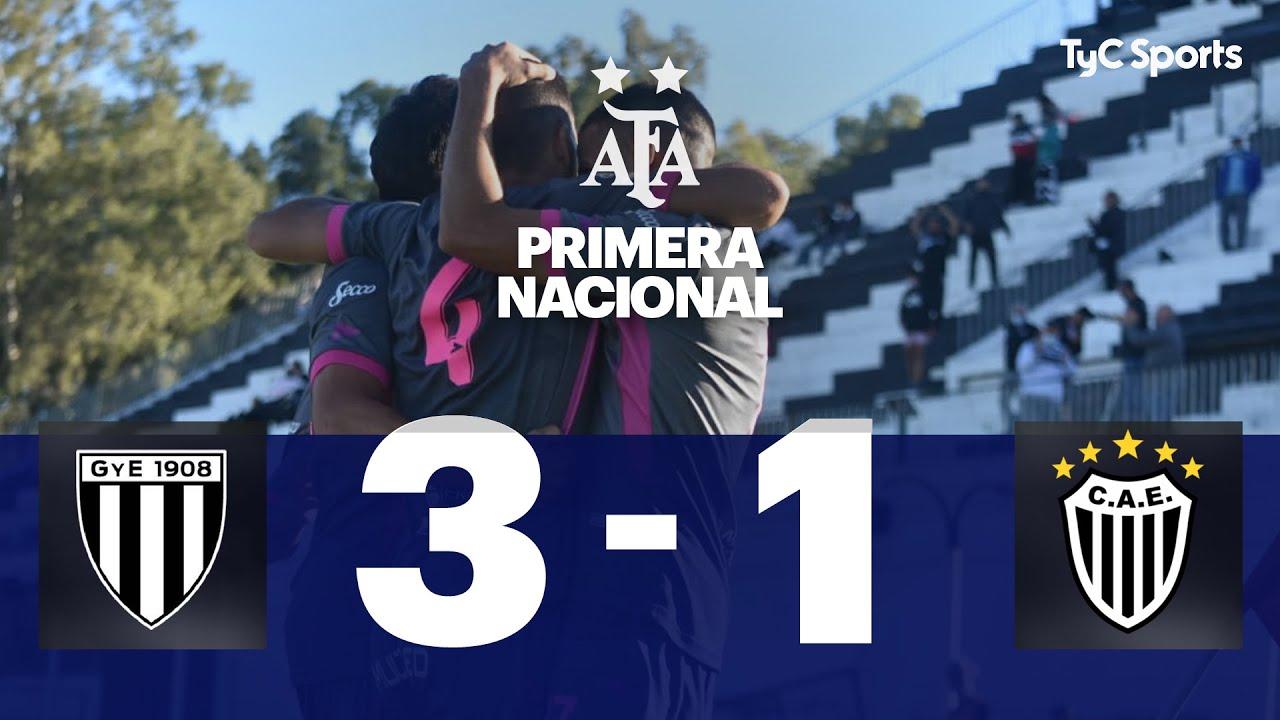Gimnasia (M) 3-1 Estudiantes (BA) | Primera Nacional