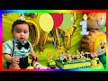 Safari themed my DIY ideas Cayson Birthday celebration