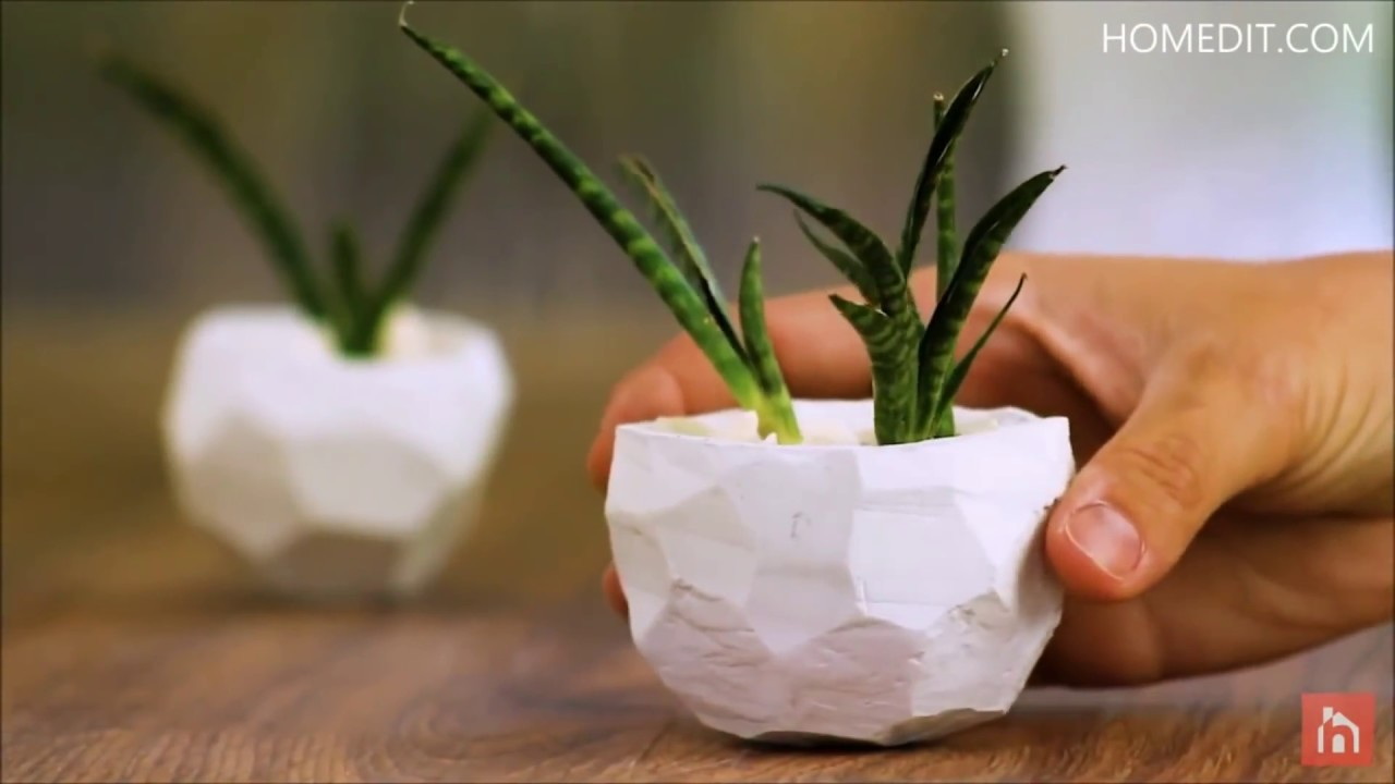 Top 10 Cute And Creative DIY Planters - YouTube