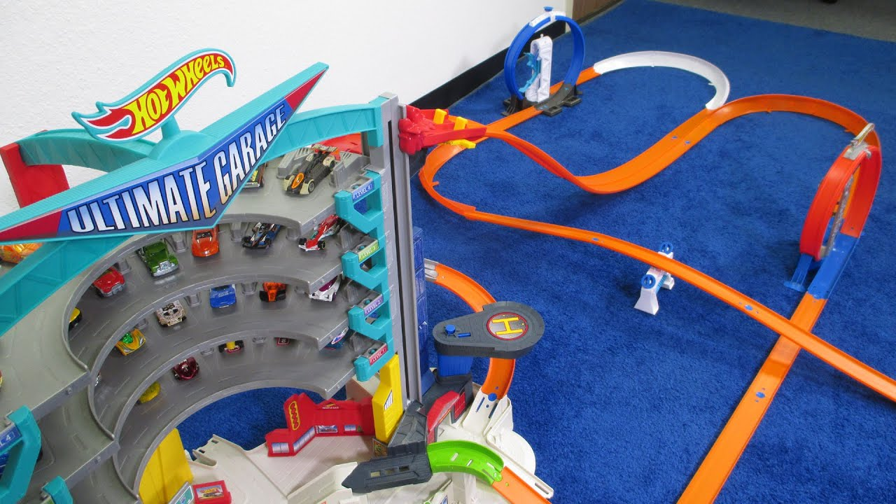 Hot wheels ultimate garage the ultimate starter set ad for Garage auto legue langueux
