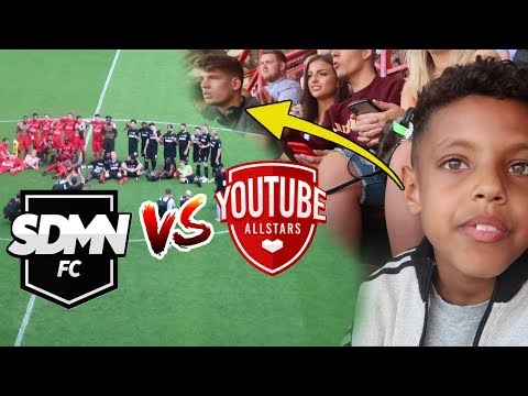 SIDEMEN FC VS YOUTUBE ALLSTARS MATCH 2018!! I WAS SEATED WITH THE YOUTUBERS!!