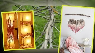 30+ DIY Tree Branches Home Decor Ideas