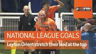 Leyton Orient stretch their lead at the top | National League Highlights