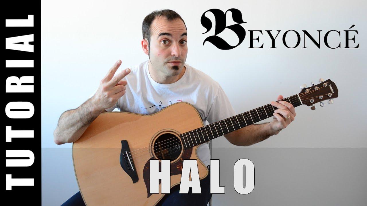 Como Tocar Halo Beyonc Guitarra Facil Paso A Paso Tabs Letra Y