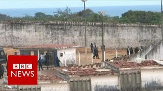 Brazil prison riot  They say my husband is dead   BBC News