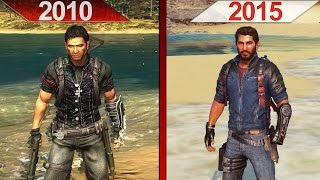 SBS Comparison | Just Cause 2 (2010) vs. Just Cause 3 (2015) | ULTRA | GTX 970