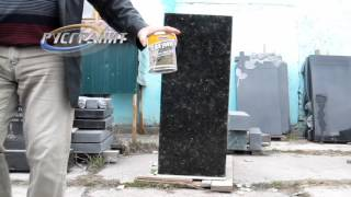 видео Акрил на памятник