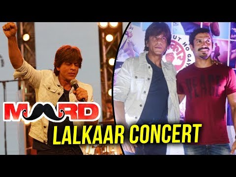 Lalkaar LIVE Concert | Red Carpet FULL VIDEO | Shahrukh Khan, Farhan Akhtar