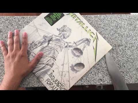 ...and Justice for All Vinyl Unboxing (Blackened Recordings)