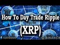 How to Day Trade Ripple (XRP) with Binance