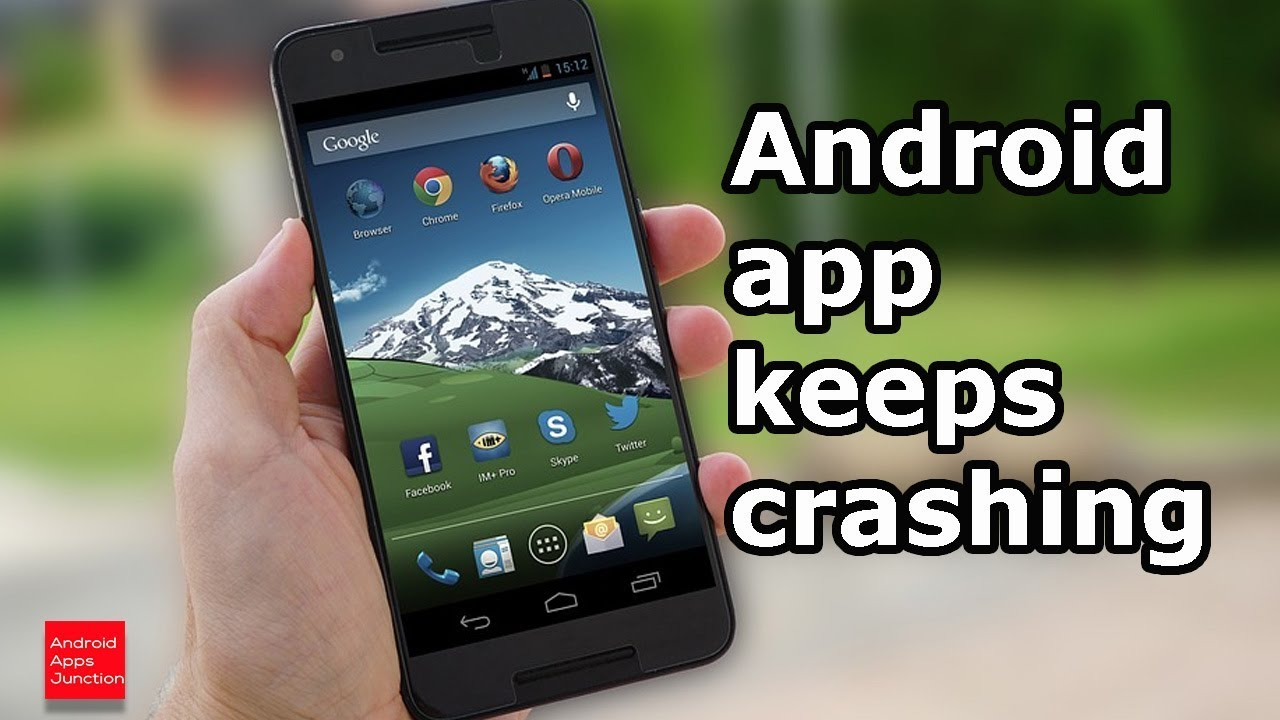 facebook app crashes android