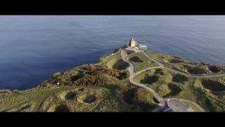 Pointe du Hoc - Normandy | drone in 4K