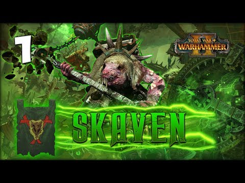 THE PLAGUELORD RISES! Total War: Warhammer 2 - Skaven Campaign - Lord Skrolk #1