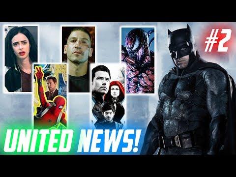 CARNAGE Villano de VENOM, Sueldo de Gal Gadot, The Batman, Spider-Man, Defenders, Inhumans y más!