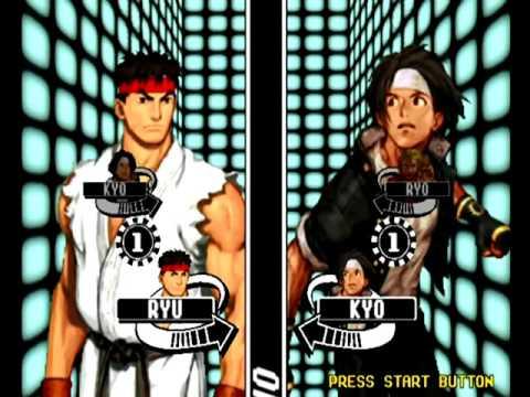 Capcom VS SNK Pro (Dreamcast) Arcade Mode as Kyo/Ryu