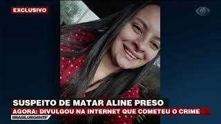 CASO ALINE: Postagem em rede social leva a polícia a ouvir suspeito