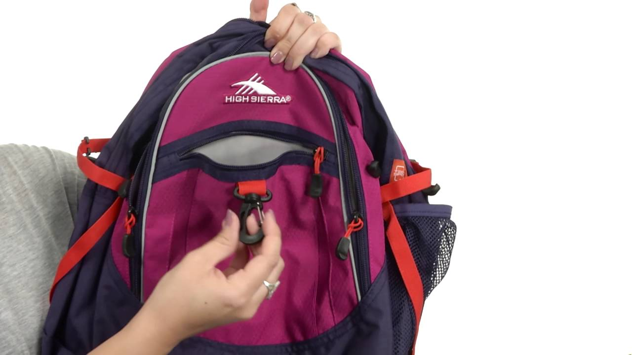9032d32ff High Sierra BTS Fat Boy Backpack SKU:8693381 - YouTube
