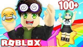 What's at the end of this Roblox Rainbow Slide?