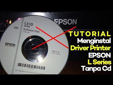 Unboxing Printer EPSON L120 sekaligus isi tinta dan install driver, dan TESTING!.