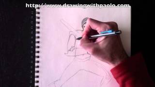 Drawing Obi Wan with Paolo Morrone