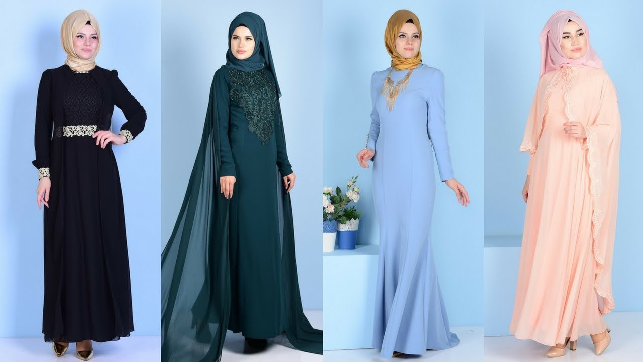 aa5911796843c Sefamerve Yeni Sezon Tesettür Abiye Elbise Modelleri 2/2 - YouTube