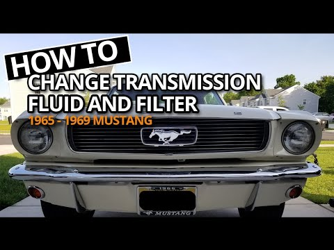 How to Change 1965-1969 Ford Mustang C4 Transmission Filter and Fluid