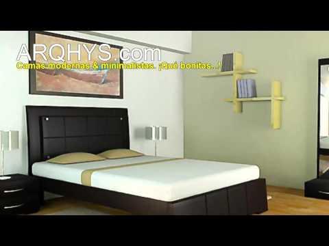 Camas muebles y mobiliarios modernos y minimalistas for Catalogo muebles minimalistas