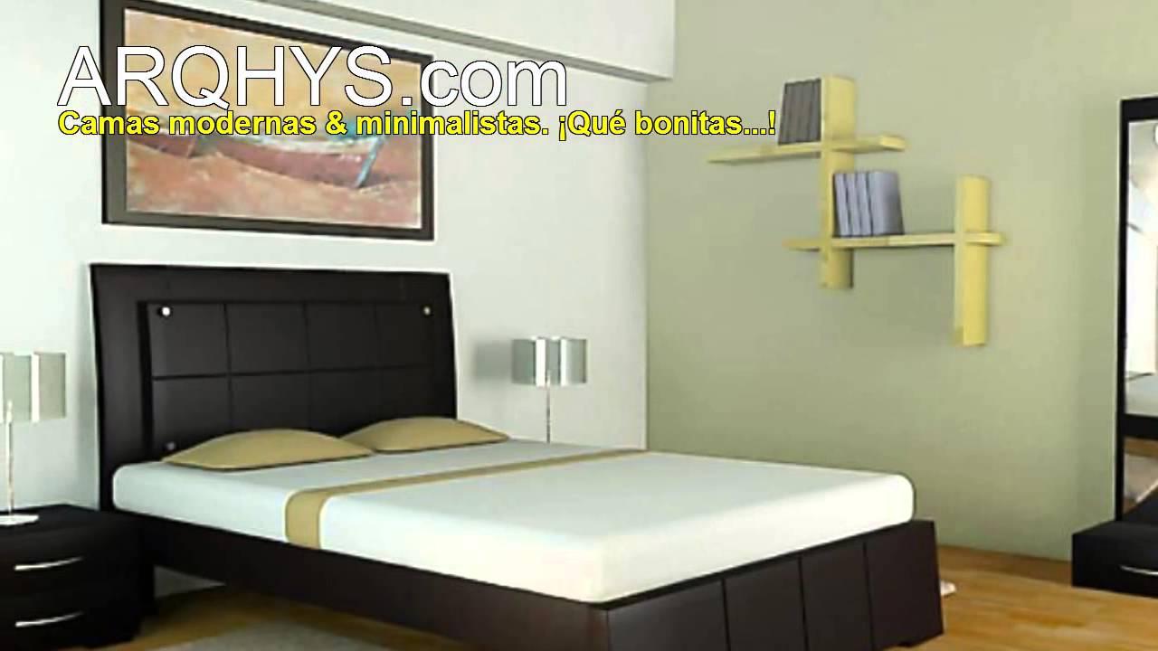 Camas, muebles y mobiliarios modernos y minimalistas  YouTube