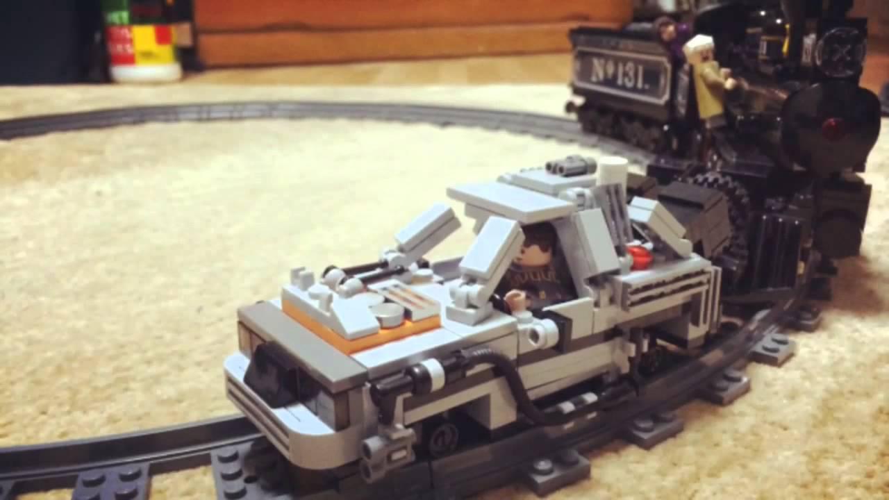Lego Cuusoo Back To The Future Locomotive 131 Youtube