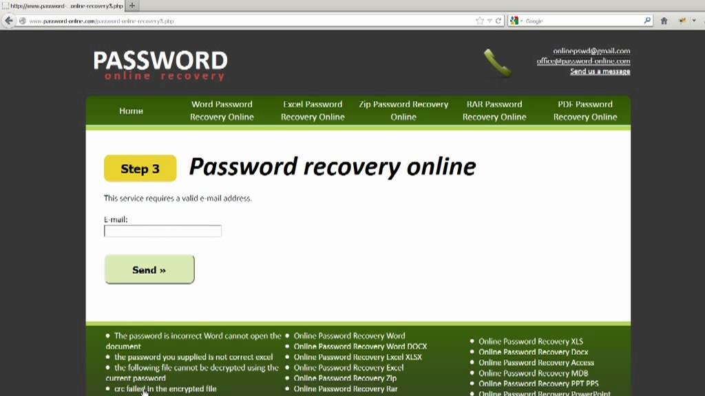 docx password remover software